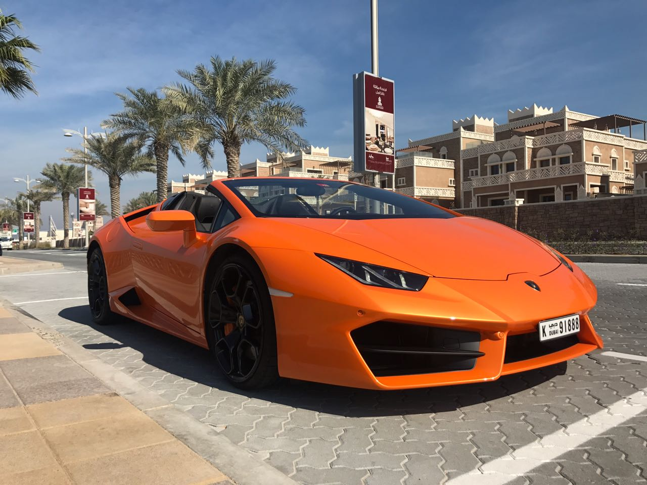 Lamborghini Huracán LP 610-4 Spyder Orange