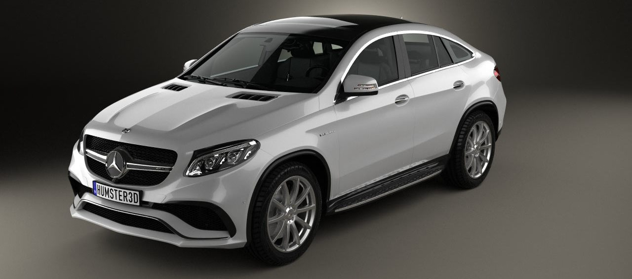 Mercedes GLE 63s AMG coupe