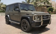 Rent now this Mercedes G63 AMG 2016 model in Dubai at #easycarhire24.