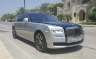 Rent now this Rolls-Royce Ghost 2016 model in Dubai at #easycarhire24.